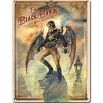 The Black Baron Metal Plaque 17-ALOM467