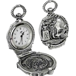 The Death of Byron Fob Watch Pewter Alchemy 17-AW25