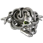 The Gorgon's Eye Belt Buckle 17-B77