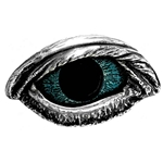 The Vulture's Eye Belt Buckle Pewter Alchemy17-B83