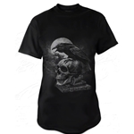 Poe's Raven Adult T-Shirt Alchemy 17-bt810
