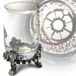 Gears of Progress Steampunk Glass 17-CWT45