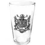 XXX Black Rose Ale Glass Alchemy 17-CWT48