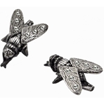 Musca Mico Earrings Pewter Alchemy E327