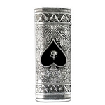 Cups And Swords Lighter Case  Pewter Alchemy LC12