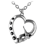 La Mort De Coeur Necklace 17-P452
