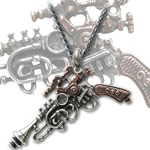 'The Duellist' Cantosonic Wave Gun Necklace 17-P581