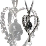 Death of the Heart Necklace 17-P585