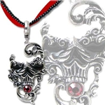 Venetian Mask of Death Pendant 17-P591