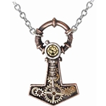 Steamhammer Pendant Pewter Alchemy P592