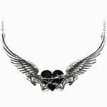 Black Romance Necklace 17-P610