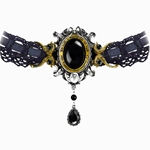 She Walks In Beauty Choker Pewter Alchemy P640