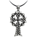 Norsemen Raider's Cross Necklace Pewter Alchemy P684