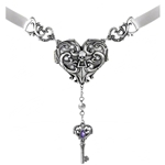 Inamorato Heart Locket Pewter Alchemy P690