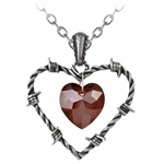 Love Imprisoned Pendant Pewter Alchemy P692