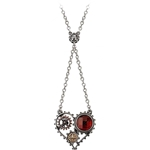 Coeur du Moteur Necklace Pewter Alchemy P708