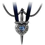 Love is King Necklace Pewter Alchemy P725
