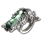 Winter Garden Crystal Ring 17-R137