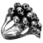 Charnalite Ring Pewter Alchemy R142