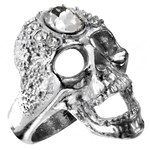 Victoria's Glad-Rocks Ring Pewter Alchemy R161