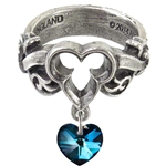 The Dogaressa's Last Love Ring Pewter Alchemy R199