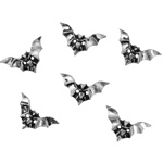 Bat Shirt Buttons Pewter Alchemy S4