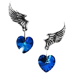 El Corazon Earrings Peweter Alchemy ULFE15