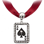 Ace Of Spades Choker Pewter Alchemy ULFP17