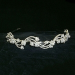 Pearl and Rhinestone Headband Tiara