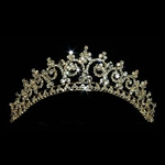 Gold Contoured Princess Tiara