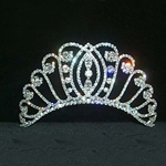 Small Intersecting Tiara - Contoured Base 172-11869