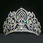 Large Living Orchid Tiara 172-11919