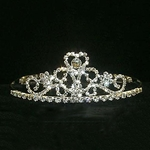Pedestalled Heart Tiara 172-12045