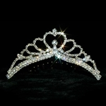 Bursting Heart Tiara Comb