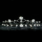 Jumping Flower Tiara 172-12607