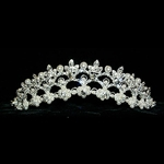 Pearl and Rhinestone Tiara 172-13205