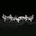 Pearl Waves Tiara with Rings
