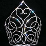 "Swooning Heart Crown - 9.5"" 172-15139"