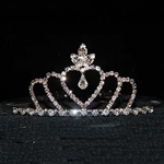 Triple Heart Crown Tiara