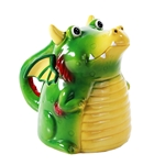 Green Dragon Topsy Turvy Mug