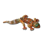 Lizard Crystal Pewter Jewelry Box 18-3592