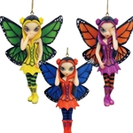 Three Wise Fairies Strangeling Ornaments