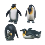 Emperor Penguins Statue Set of 4