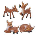 Baby Deers Statue Set of Four