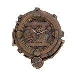 Steampunk Clock With Thermometer 18-8658