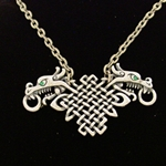 Celtic Dragon Necklace