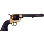 Old West M1873 Cavalry Revolver Replica Two Tone Finish