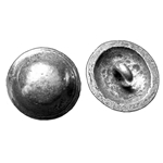Domed Pewter Button 21-2069