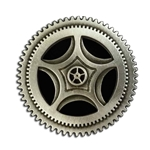 Large Steampunk Button 21-2078