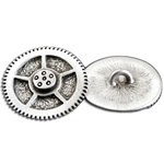 Small Steampunk Gear Button 21-2079